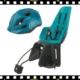 bobike one maxi hátsó gyerekülés kék színben S-es sisakkal