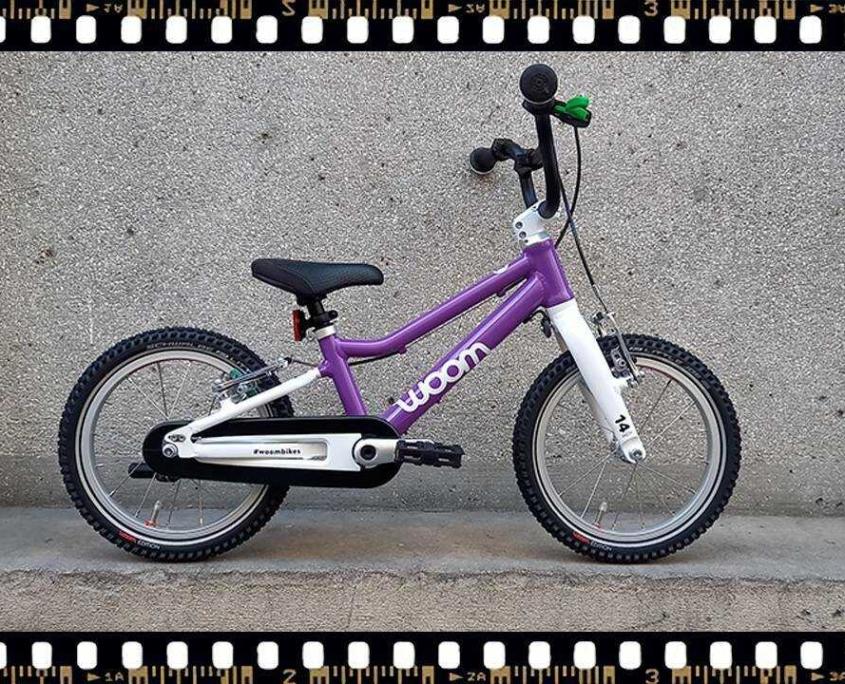 woom2 14-es méretű gyerek bicikli
