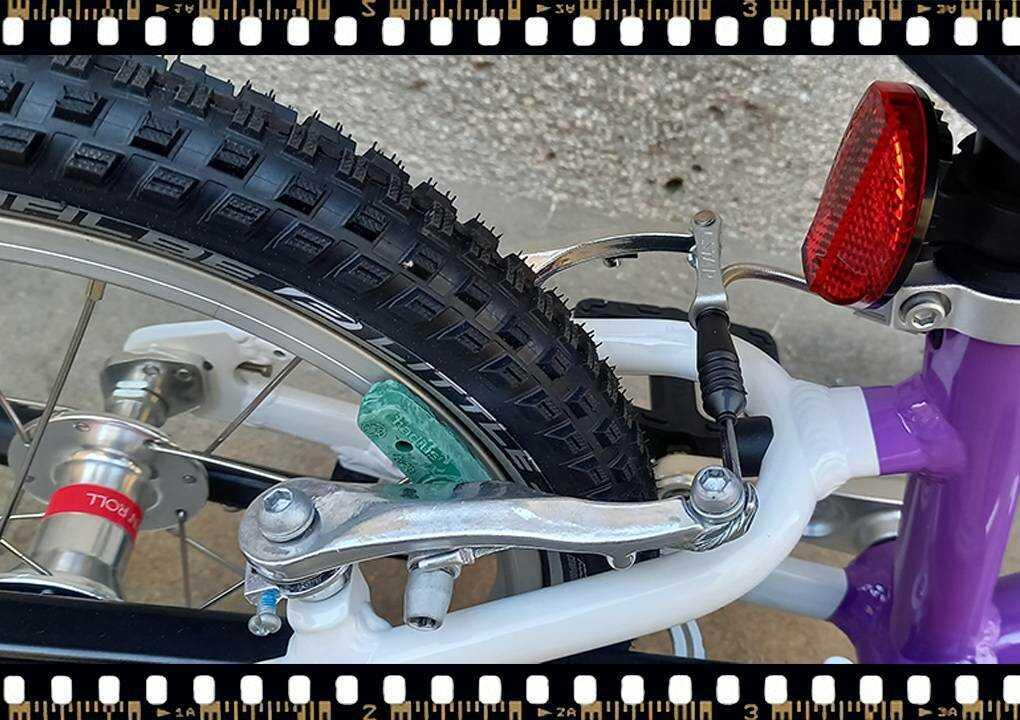 woom2 14-es méretű gyerek kerékpár fék