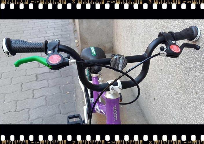 woom2 14-es méretű gyerek bicikli kormány