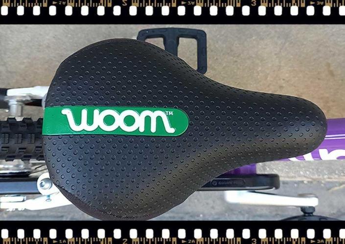 woom2 14-es méretű gyerek bicikli nyereg