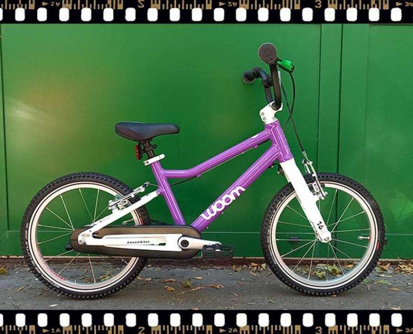 woom3 16-os méretű gyerek bicikli