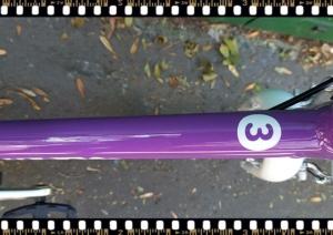 woom3 16-os méretű gyerek bicikli váz