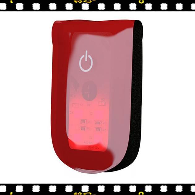 wowow magnetlight piros színű kerékpár villogó